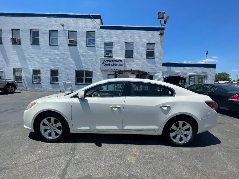 2010 Buick LaCrosse for sale at Lightning Auto Sales in Springfield IL