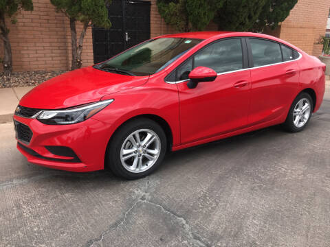 2018 Chevrolet Cruze for sale at Freedom  Automotive in Sierra Vista AZ