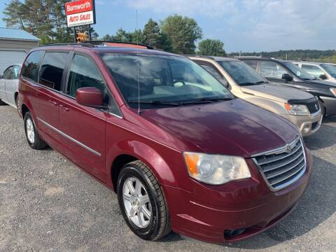2009 Chrysler Town and Country for sale at BURNWORTH AUTO INC in Windber PA