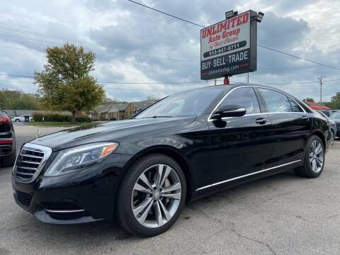 2015 Mercedes-Benz S-Class for sale at Unlimited Auto Group in West Chester OH