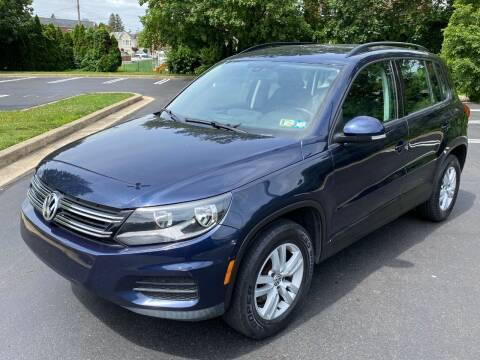 2016 Volkswagen Tiguan for sale at Professionals Auto Sales in Philadelphia PA