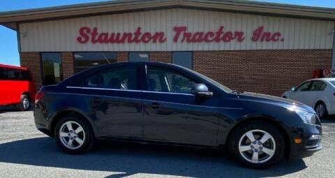 2015 Chevrolet Cruze for sale at STAUNTON TRACTOR INC in Staunton VA