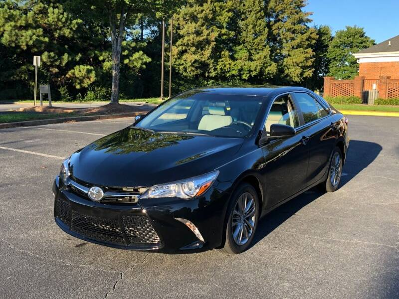 2017 Toyota Camry for sale at SMZ Auto Import in Roswell GA