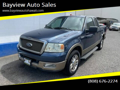 2005 Ford F-150 for sale at Bayview Auto Sales in Waipahu HI