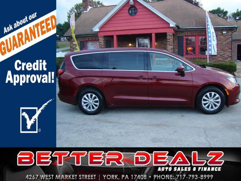2017 Chrysler Pacifica for sale at Better Dealz Auto Sales & Finance in York PA