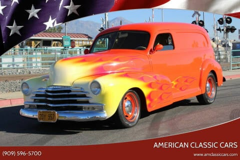 1948 Chevrolet Sedan Delivery for sale at American Classic Cars in La Verne CA