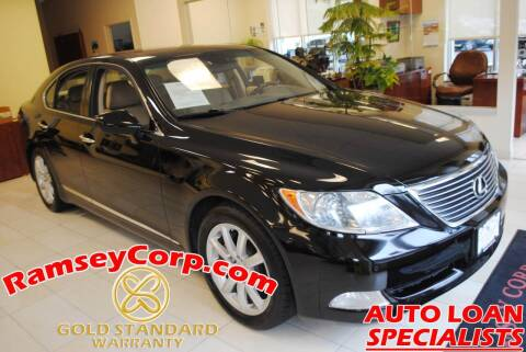 2007 Lexus LS 460 for sale at Ramsey Corp. in West Milford NJ
