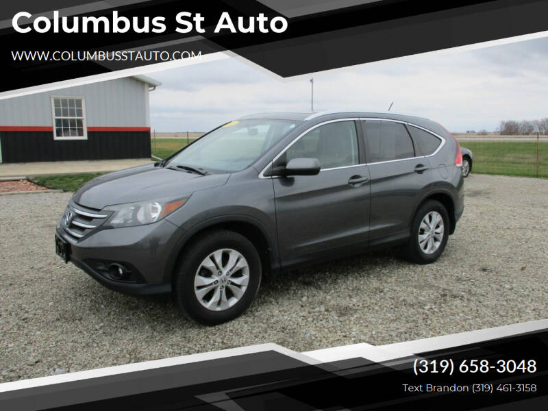 2013 Honda CR-V for sale at Columbus St Auto in Crawfordsville IA