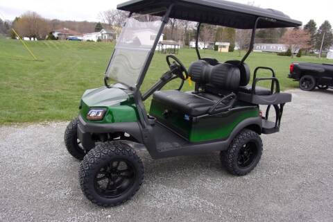 2019 Club Car Tempo CUSTOM Gas EFI for sale at Area 31 Golf Carts - Gas 4 Passenger in Acme PA