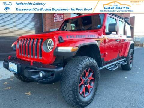2019 Jeep Wrangler Unlimited for sale at The Car Guys in Staten Island NY
