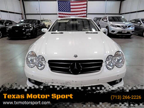 2007 Mercedes-Benz SL-Class for sale at Texas Motor Sport in Houston TX