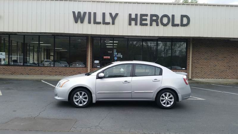 2012 Nissan Sentra for sale at Willy Herold Automotive in Columbus GA