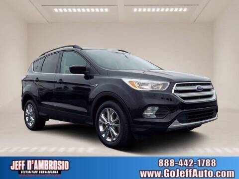 2018 Ford Escape for sale at Jeff D'Ambrosio Auto Group in Downingtown PA