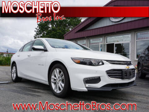 2018 Chevrolet Malibu for sale at Moschetto Bros. Inc in Methuen MA
