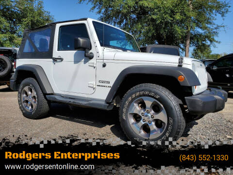2011 Jeep Wrangler for sale at Rodgers Enterprises in North Charleston SC