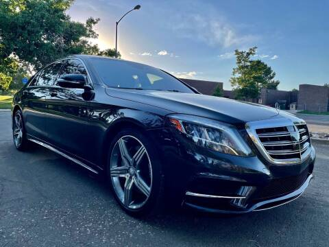 2015 Mercedes-Benz S-Class for sale at Red Rock's Autos in Denver CO
