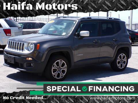 2016 Jeep Renegade for sale at Haifa Motors in Philadelphia PA