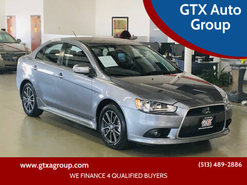 2015 Mitsubishi Lancer for sale at GTX Auto Group in West Chester OH