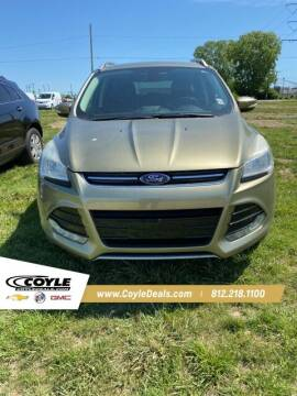 2014 Ford Escape for sale at COYLE GM - COYLE NISSAN - New Inventory in Clarksville IN