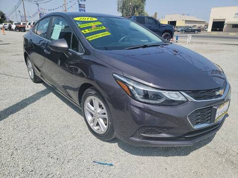 2016 Chevrolet Cruze for sale at La Playita Auto Sales Tulare in Tulare CA
