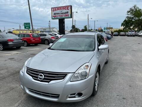 2012 Nissan Altima for sale at Jamrock Auto Sales of Panama City in Panama City FL
