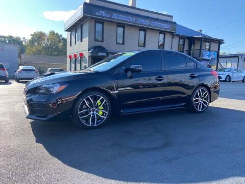 2021 Subaru WRX for sale at Sisson Pre-Owned in Uniontown PA