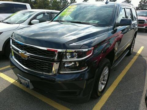 2017 Chevrolet Tahoe for sale at PHIL SMITH AUTOMOTIVE GROUP - Pinehurst Nissan Kia in Southern Pines NC