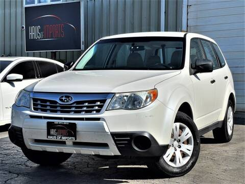2013 Subaru Forester for sale at Haus of Imports in Lemont IL