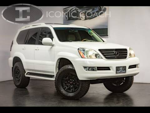 2007 Lexus GX 470 for sale at Iconic Coach in San Diego CA