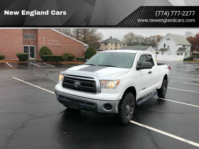 2010 Toyota Tundra for sale at New England Cars in Attleboro MA