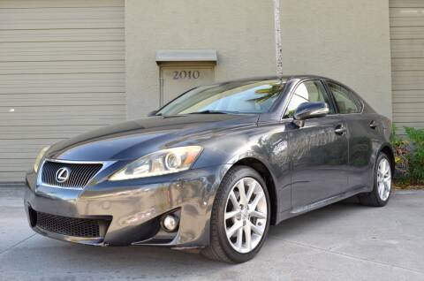 2011 Lexus IS 250 for sale at ALWAYSSOLD123 INC in Fort Lauderdale FL