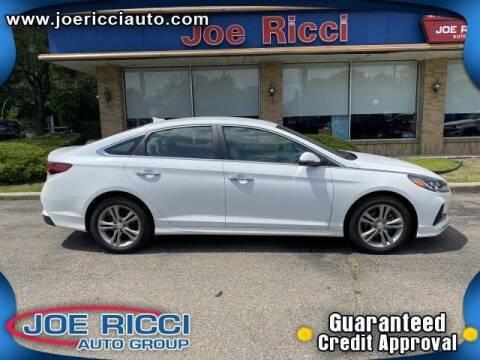 2018 Hyundai Sonata for sale at JOE RICCI AUTOMOTIVE in Clinton Township MI