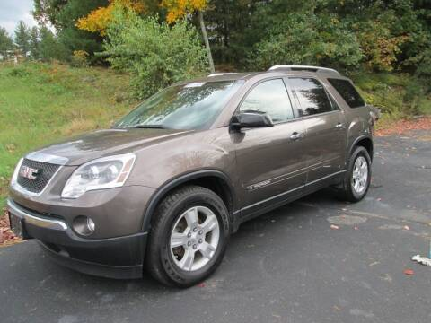 2008 GMC Acadia for sale at Nu2u Cars in Windham NH
