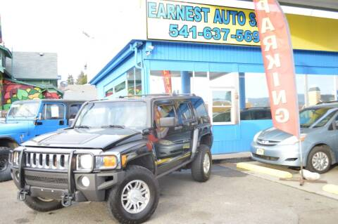 2007 HUMMER H3 for sale at Earnest Auto Sales in Roseburg OR