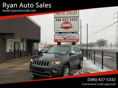 2014 Jeep Grand Cherokee for sale at Ryan Auto Sales in Warren MI