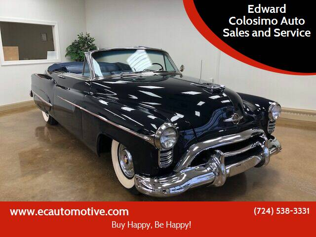 1950 Oldsmobile Ninety-Eight for sale at Edward Colosimo Auto Sales and Service in Evans City PA
