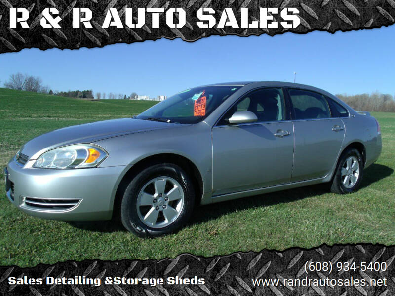 2008 Chevrolet Impala for sale at R & R AUTO SALES in Juda WI