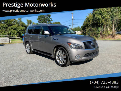 2012 Infiniti QX56 for sale at Prestige Motorworks in Concord NC