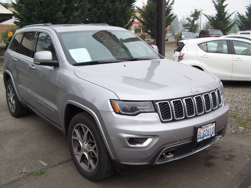 2018 Jeep Grand Cherokee for sale at M & M Auto Sales LLc in Olympia WA