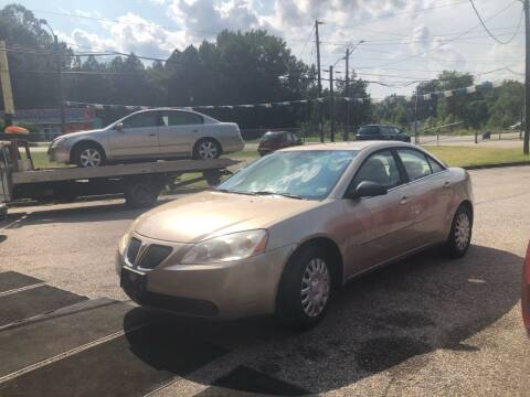 2007 Pontiac G6 for sale at AFFORDABLE USED CARS in Richmond VA