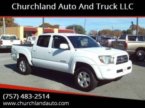2009 Toyota Tacoma for sale at Churchland Auto and Truck LLC in Portsmouth VA