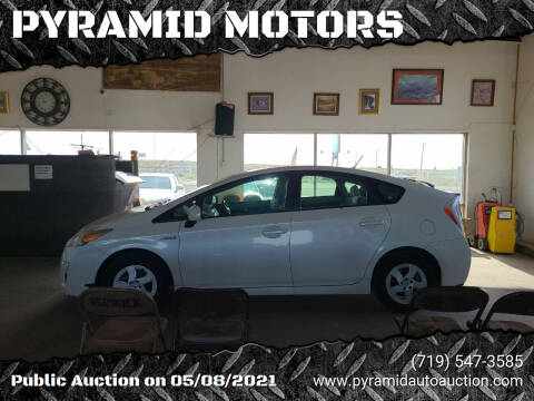 2010 Toyota Prius for sale at PYRAMID MOTORS - Fountain Lot in Fountain CO