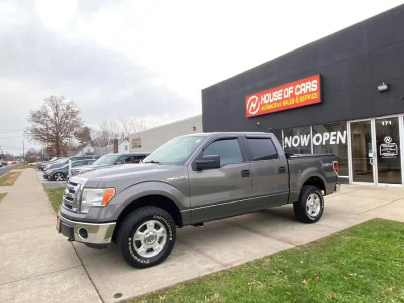 2011 Ford F-150 for sale at HOUSE OF CARS CT in Meriden CT