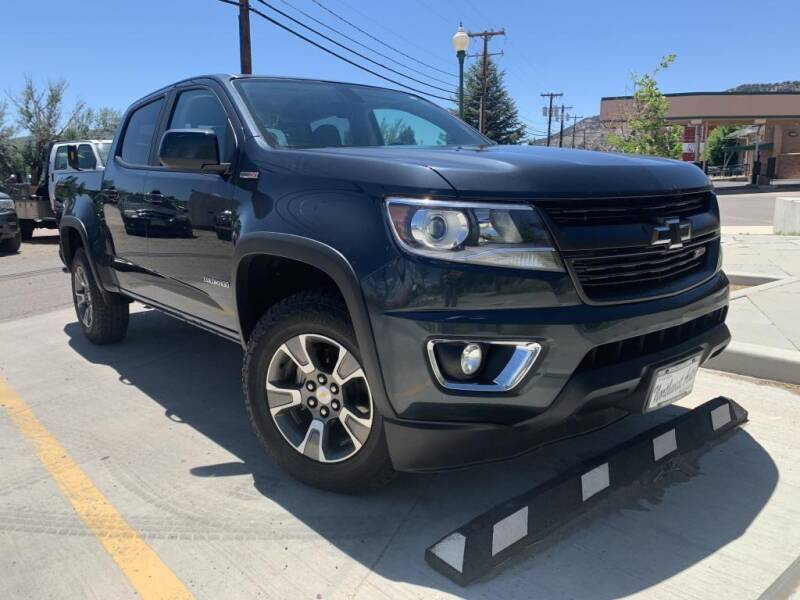 2017 Chevrolet Colorado for sale at Northwest Auto Sales & Service Inc. in Meeker CO