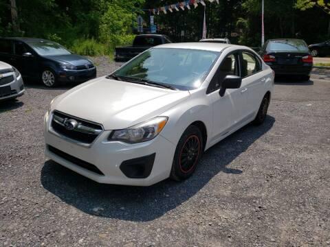 2014 Subaru Impreza for sale at Apple Auto Sales Inc in Camillus NY