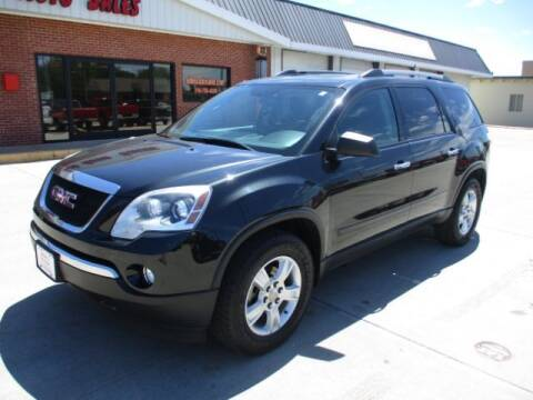 2012 GMC Acadia for sale at Eden's Auto Sales in Valley Center KS