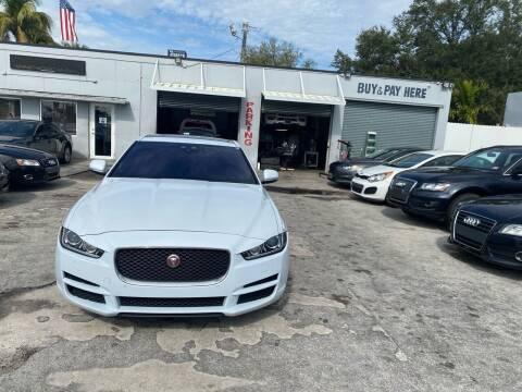 2017 Jaguar XE for sale at America Auto Wholesale Inc in Miami FL