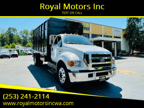 2005 Ford F-650 Super Duty for sale at Royal Motors Inc in Kent WA