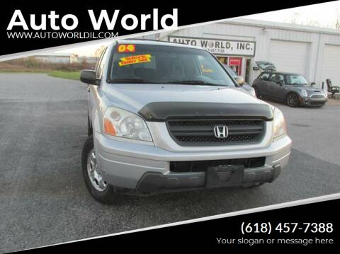 2004 Honda Pilot for sale at Auto World in Carbondale IL