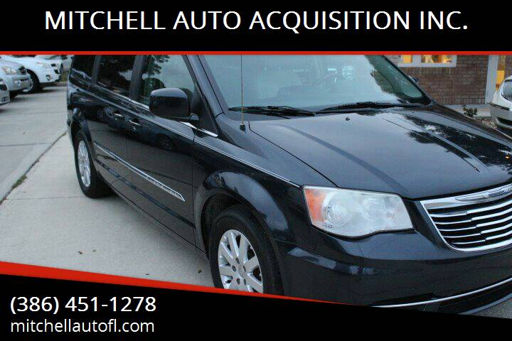 2013 Chrysler Town and Country for sale at MITCHELL AUTO ACQUISITION INC. in Edgewater FL
